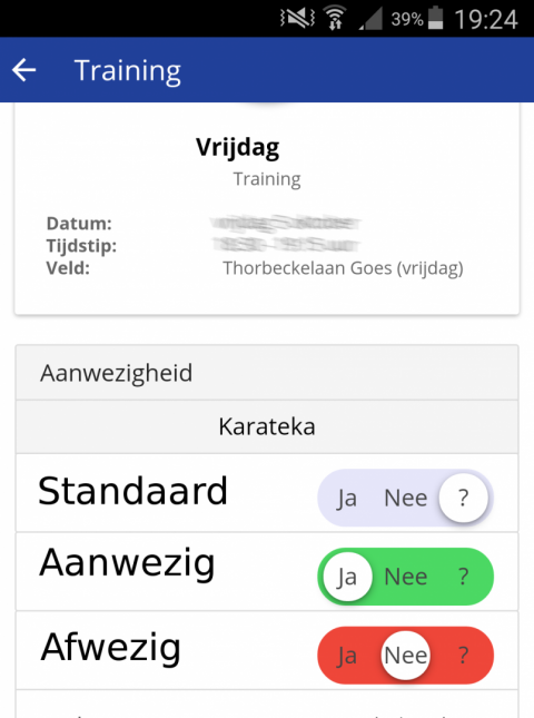 KarateGoes : Club-assistent app